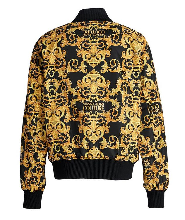 Baroque Reversible Bomber Jacket picture 2