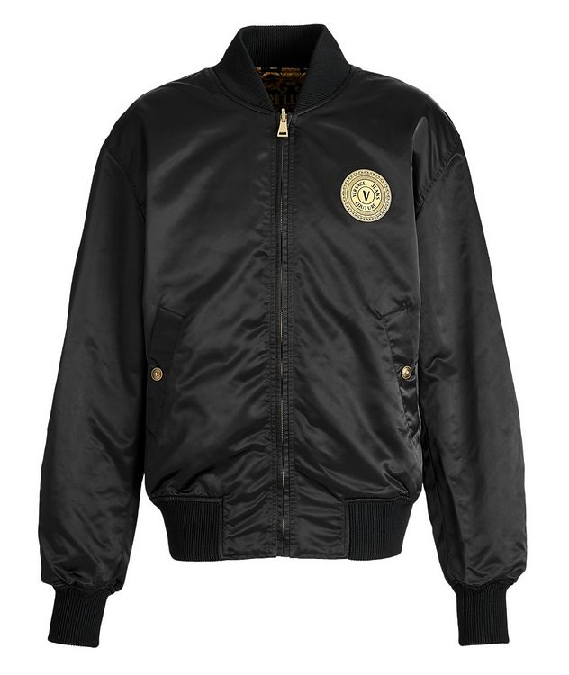 Baroque Reversible Bomber Jacket picture 3