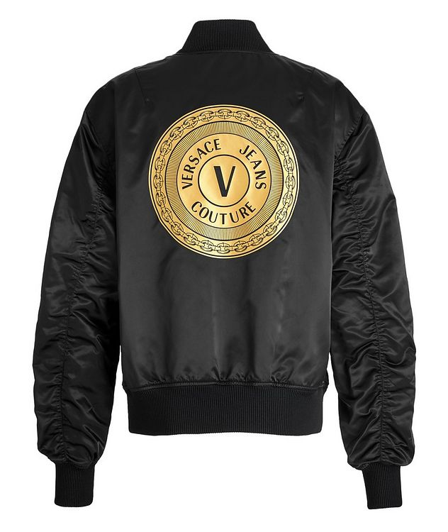 Baroque Reversible Bomber Jacket picture 4
