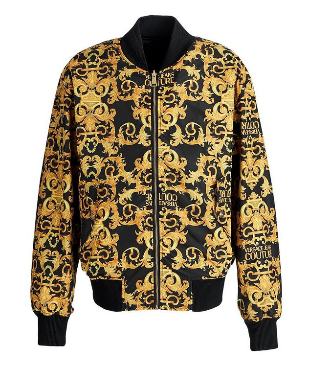 Baroque Reversible Bomber Jacket picture 1