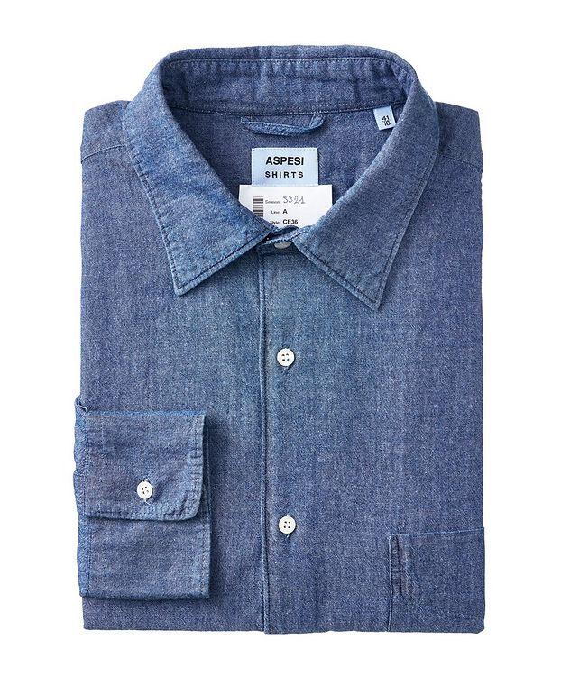 Slim-Fit Denim Shirt picture 1