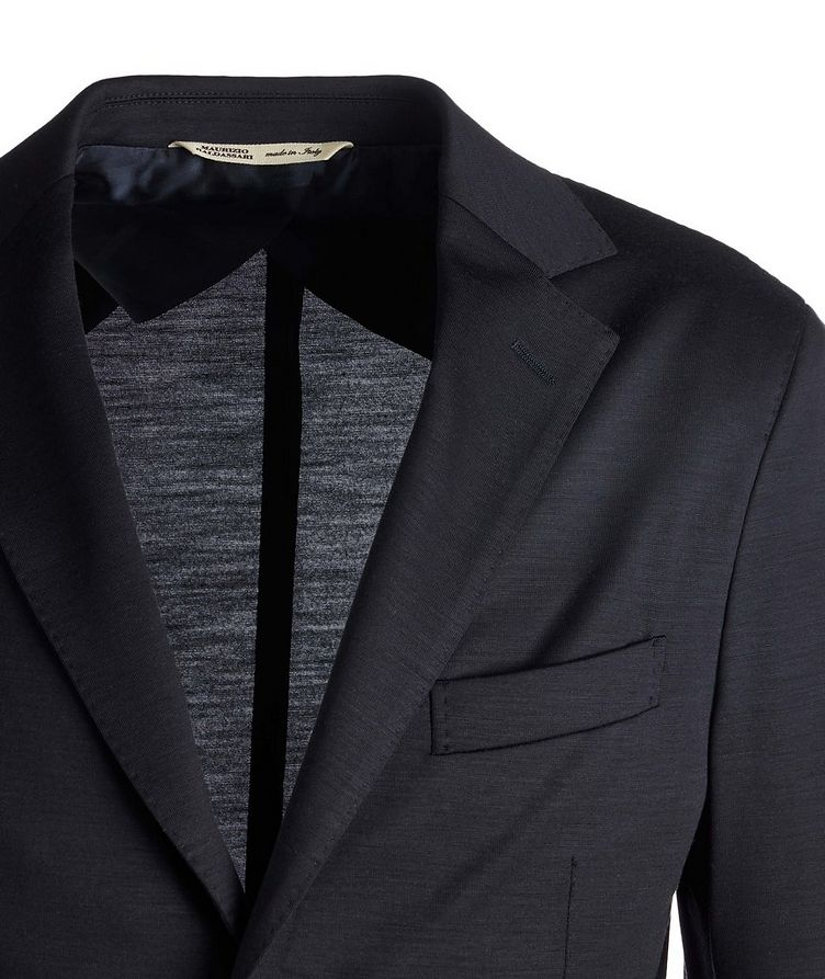 Unstructured Wool Jersey Sports Jacket image 2