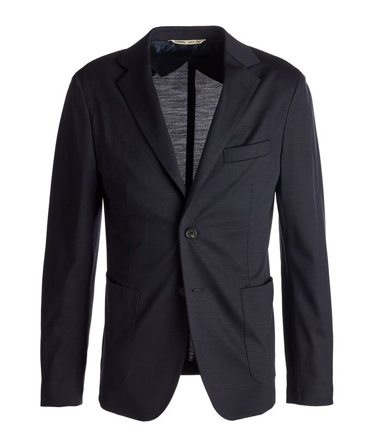 Unstructured Wool Jersey Sports Jacket image 0