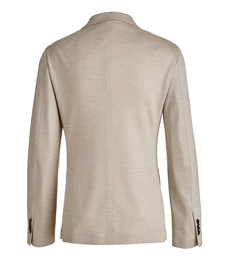 Brera Herringbone Wool Sports Jacket image 1