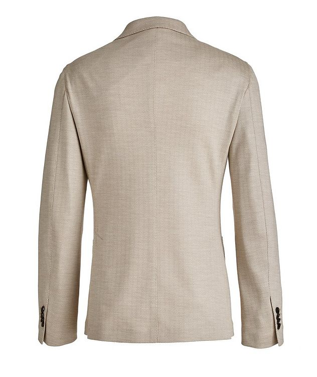 Brera Herringbone Wool Sports Jacket picture 2