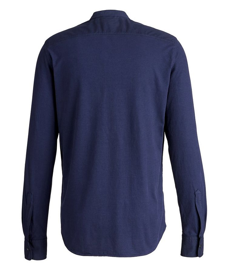 Slim-Fit Cotton Henley image 1