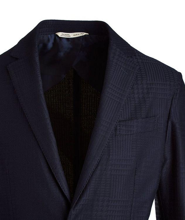 Brera Glen Check Cotton Sports Jacket picture 3