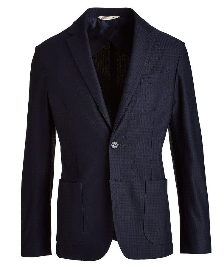 Brera Glen Check Cotton Sports Jacket image 0