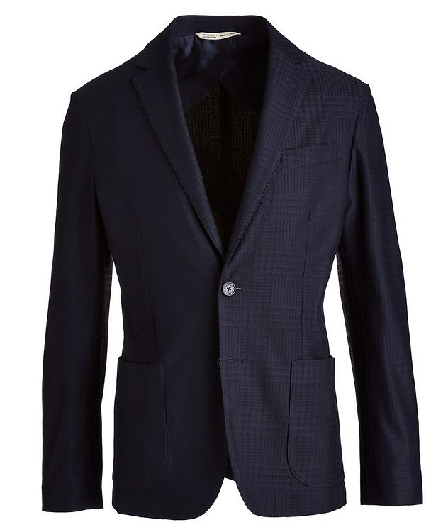 Brera Glen Check Cotton Sports Jacket picture 1