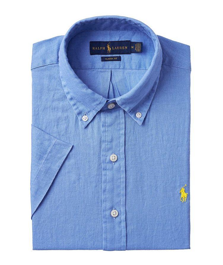 Short-Sleeve Linen Sport Shirt image 0