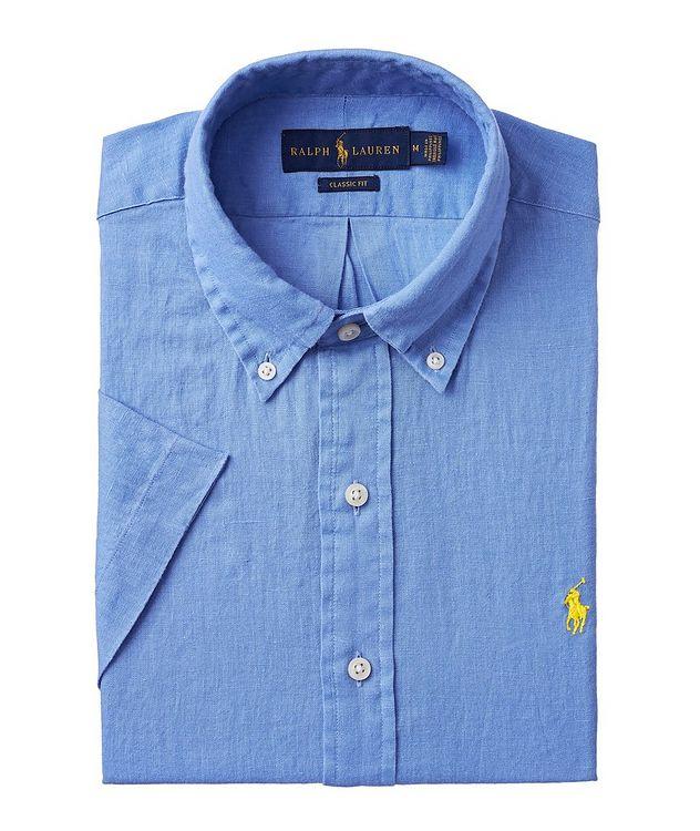 Short-Sleeve Linen Sport Shirt picture 1