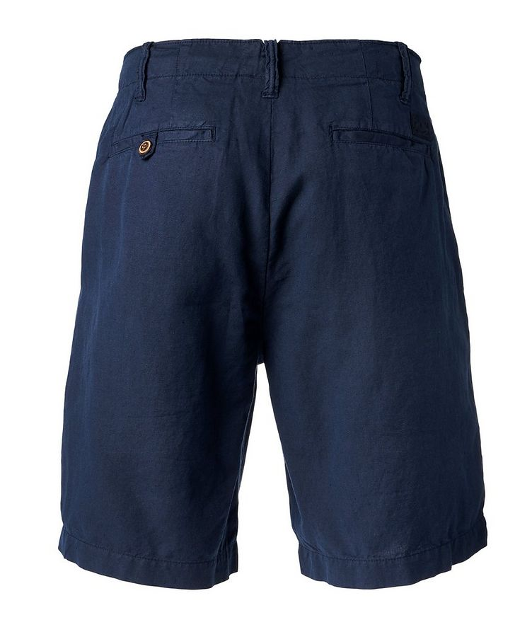 Linen-Cotton Chino Shorts image 1