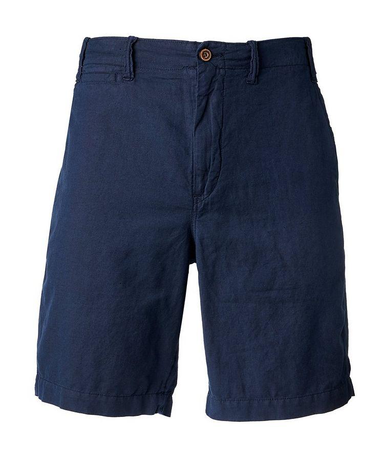 Linen-Cotton Chino Shorts image 0