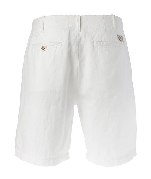 Linen-Cotton Chino Shorts picture 2