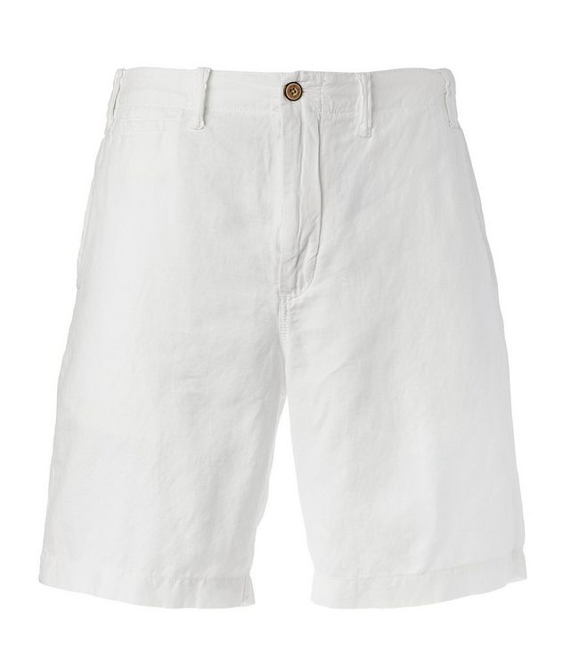 Linen-Cotton Chino Shorts picture 1