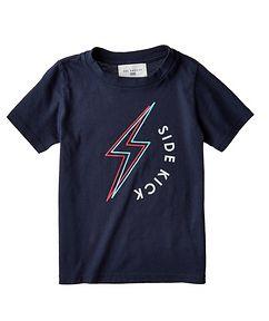 Sol Angeles T-shirt imprimé en coton pour enfants