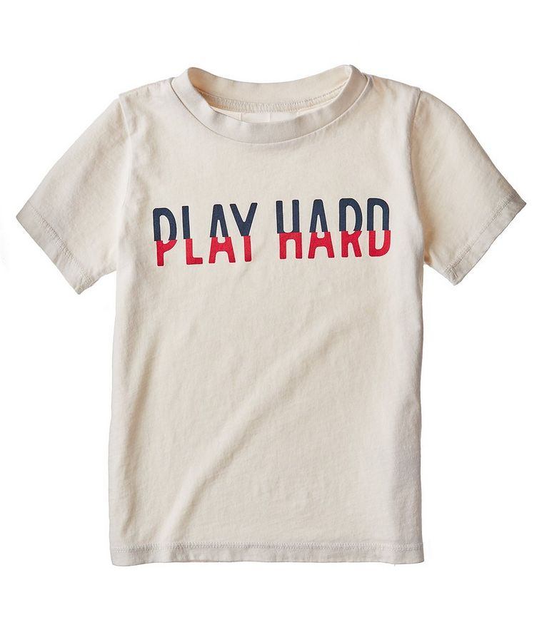 Printed Cotton Kid's T-shirt image 0