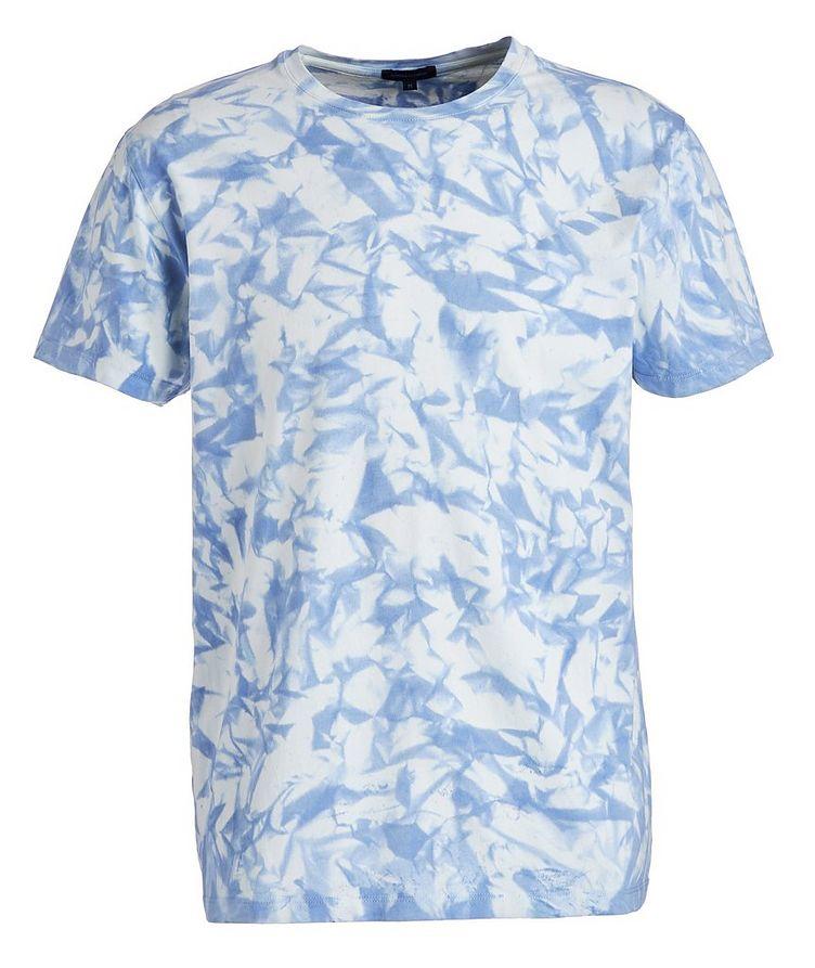 T-shirt en coton pima extensible teint par nouage image 0