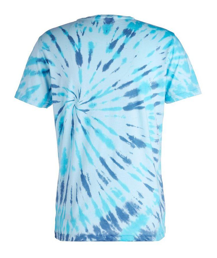 Tie-Dyed Stretch-Pima Cotton T-Shirt image 1