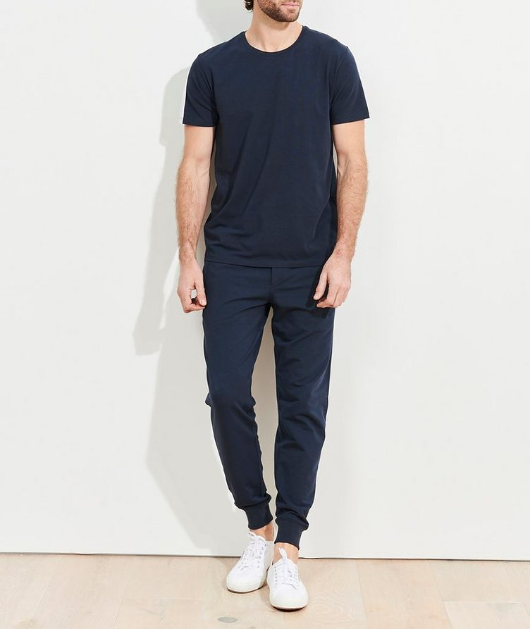 Stretch-Pima Cotton T-Shirt image 4