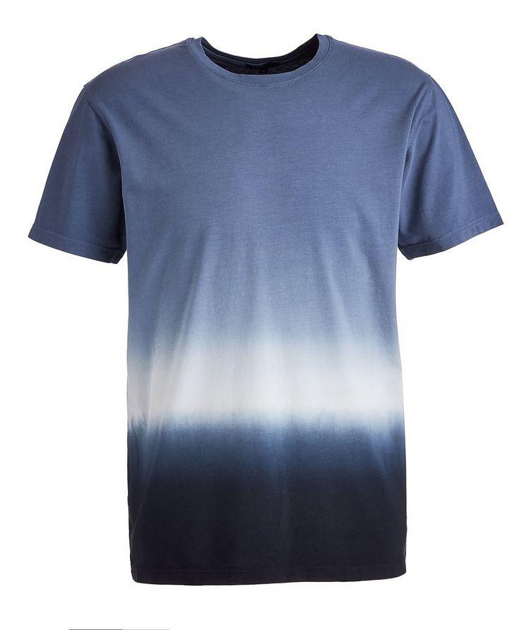 Ombré Stretch-Pima Cotton T-Shirt image 0