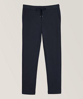 Patrick Assaraf Tech-Stretch Drawstring Trousers