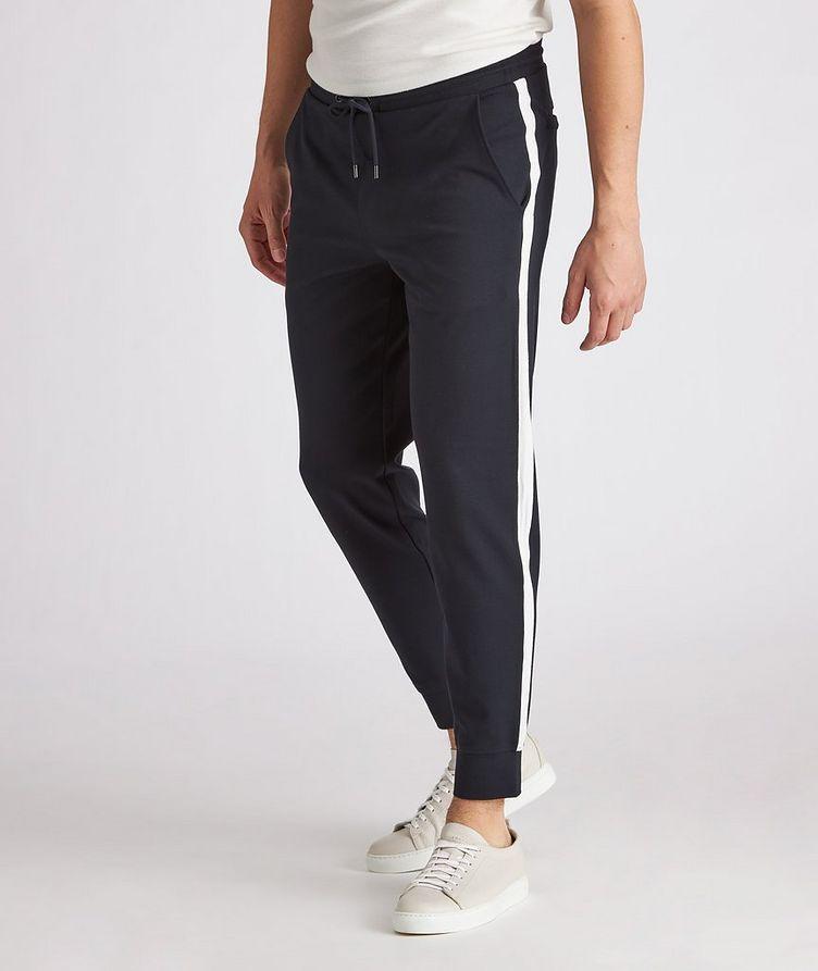 Drawstring Stretch Jersey Pants image 1