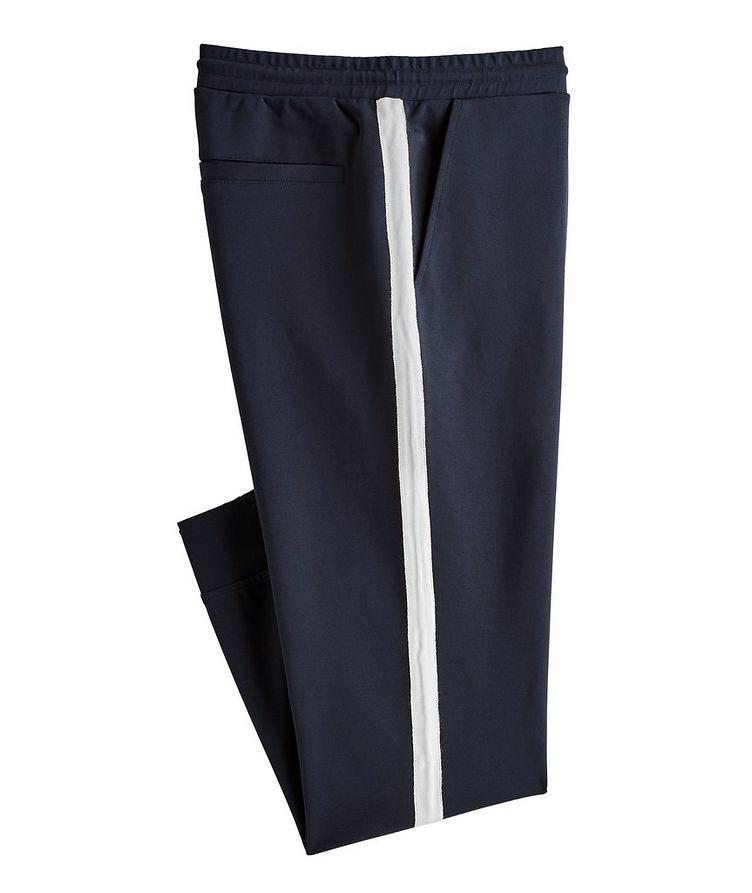 Drawstring Stretch Jersey Pants image 0