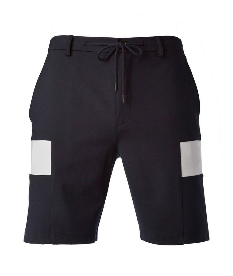 Tech-Fabric Drawstring Shorts image 0
