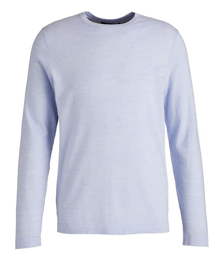 Cotton, Cupro, and Wool Knit Sweater image 0