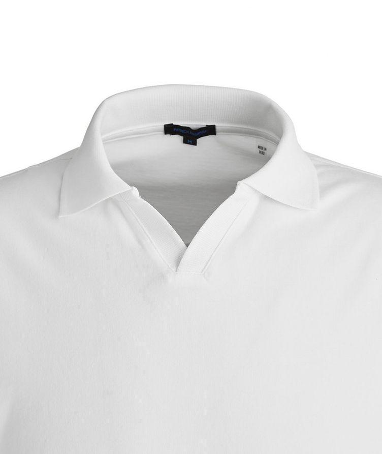 Stretch-Pima Cotton Polo image 1