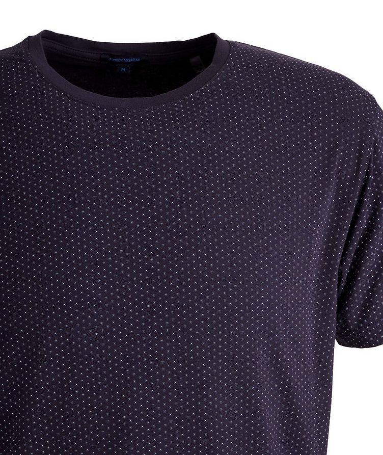 Printed Pima Stretch-Cotton T-Shirt image 1
