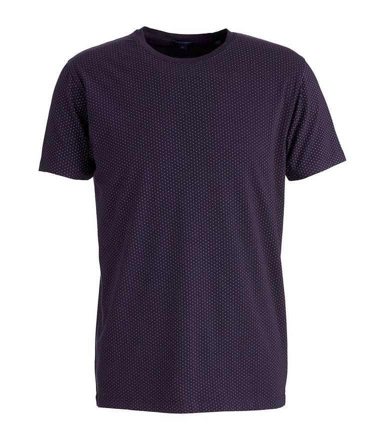 Printed Pima Stretch-Cotton T-Shirt image 0