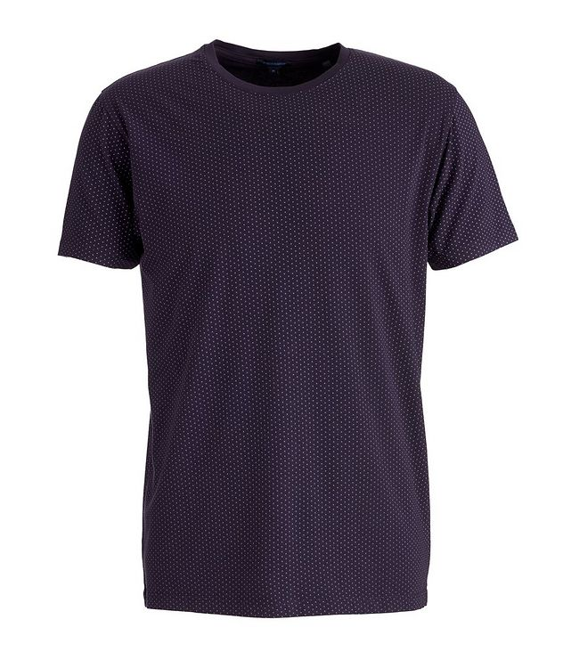Printed Pima Stretch-Cotton T-Shirt picture 1