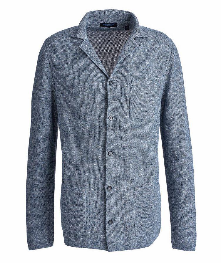 Unstructured Cotton-Linen Sports Jacket image 0
