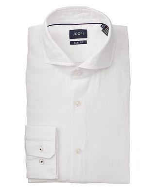 Joop! Slim-Fit Pejos Linen-Cotton Shirt