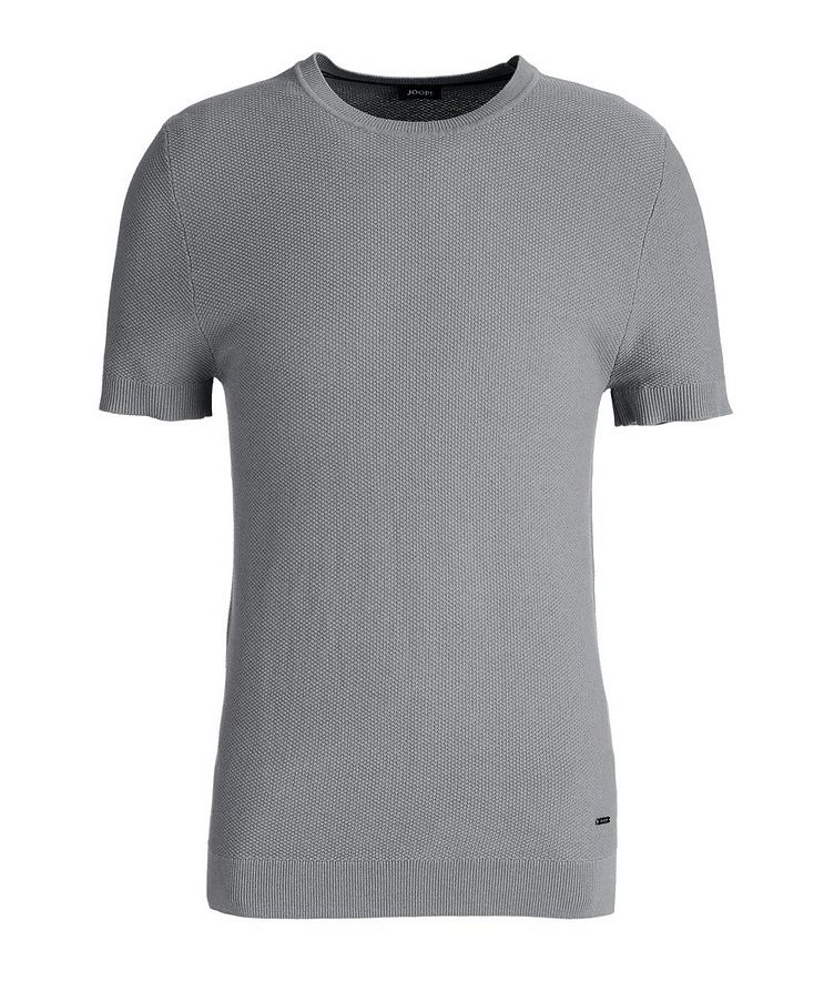 Valdrin Knit Cotton-Blend T-Shirt image 0