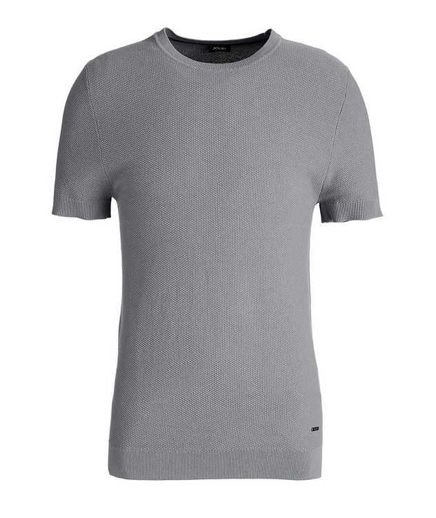 Valdrin Knit Cotton-Blend T-Shirt picture 1