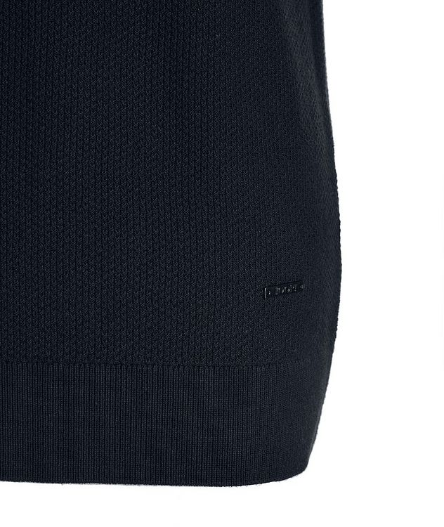 Valdrin Knit Cotton-Blend T-Shirt picture 3