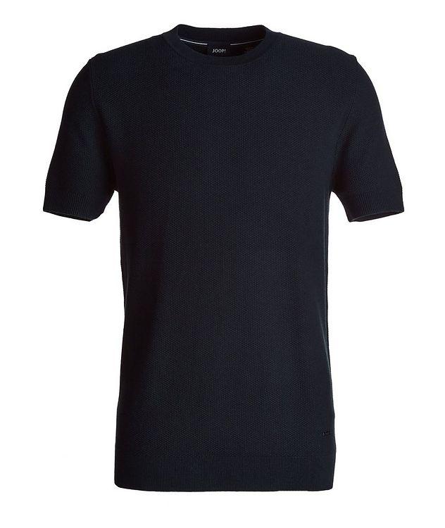 Valdrin Knit Cotton-Blend T-Shirt picture 1