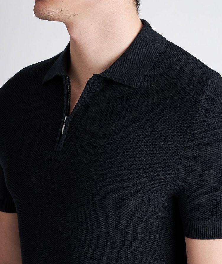Vance Knit Cotton-Blend Polo image 2