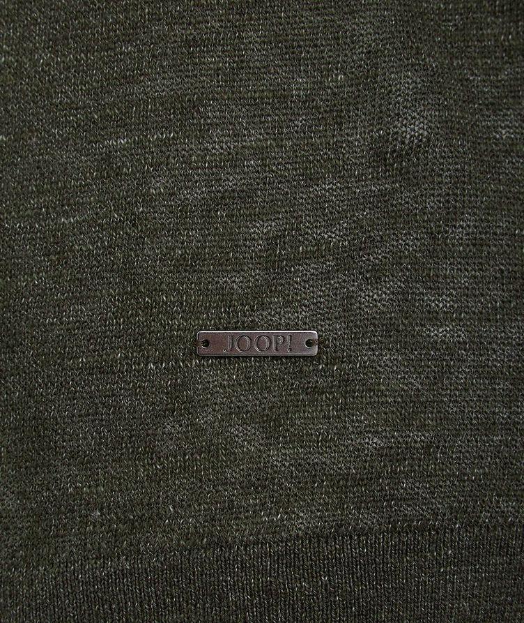 Linen-Cotton-Blend T-Shirt image 1