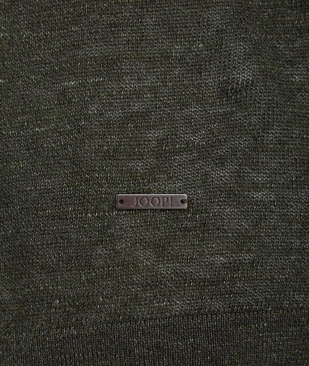 Linen-Cotton-Blend T-Shirt picture 2