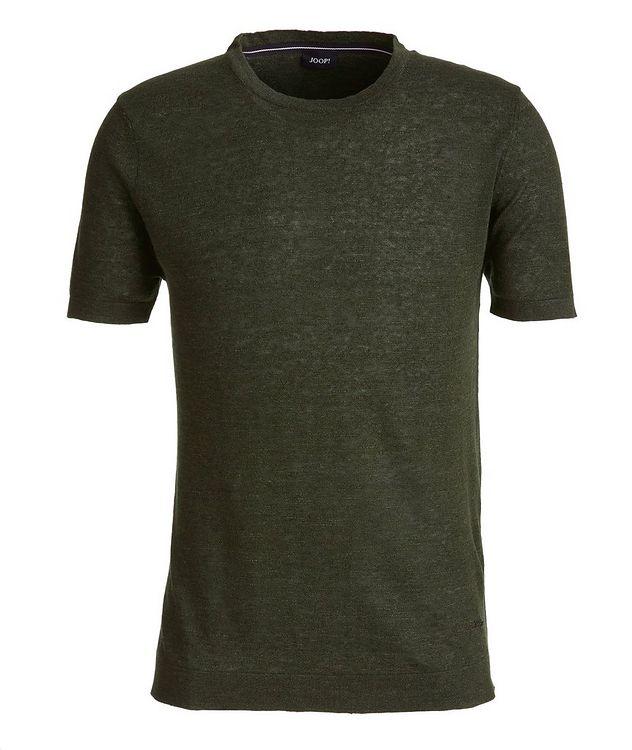 Linen-Cotton-Blend T-Shirt picture 1