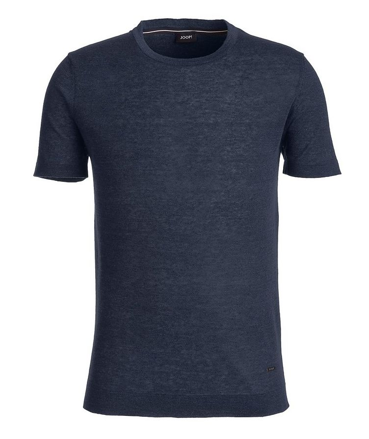 Linen-Cotton-Blend T-Shirt image 0