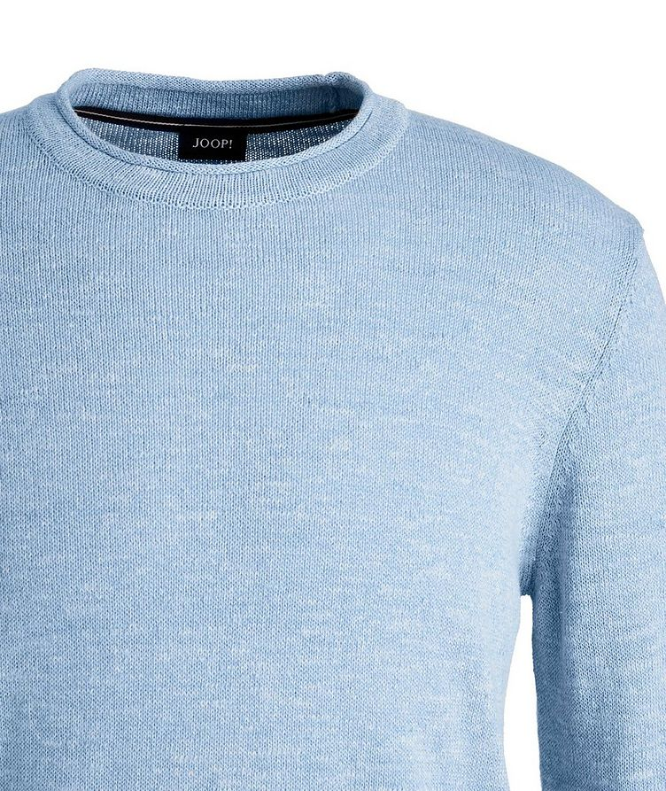 Cotton and Linen-Blend Sweater image 1