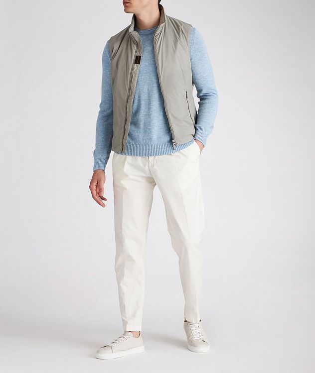 Cotton and Linen-Blend Sweater picture 3