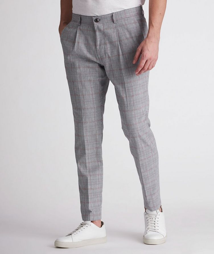 Hajo Slim-Fit Stretch-Cotton-Linen Dress Pants image 1