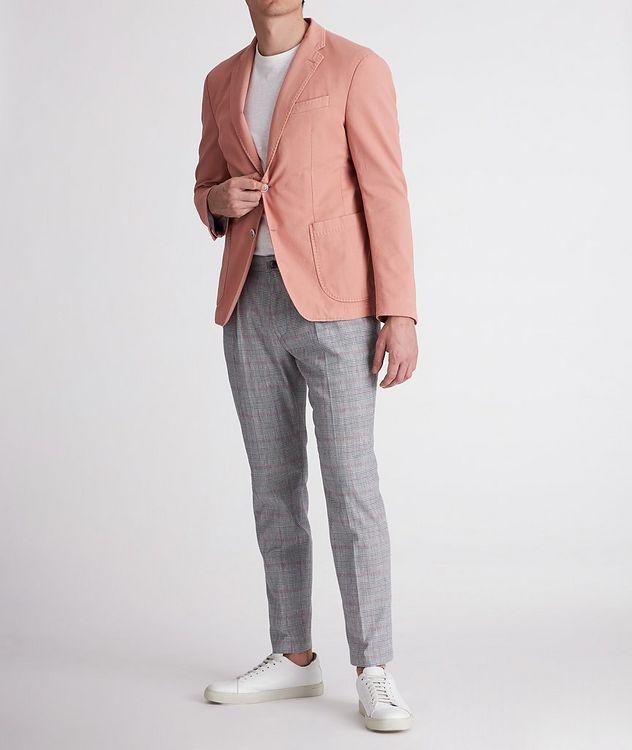 Hajo Slim-Fit Stretch-Cotton-Linen Dress Pants picture 5