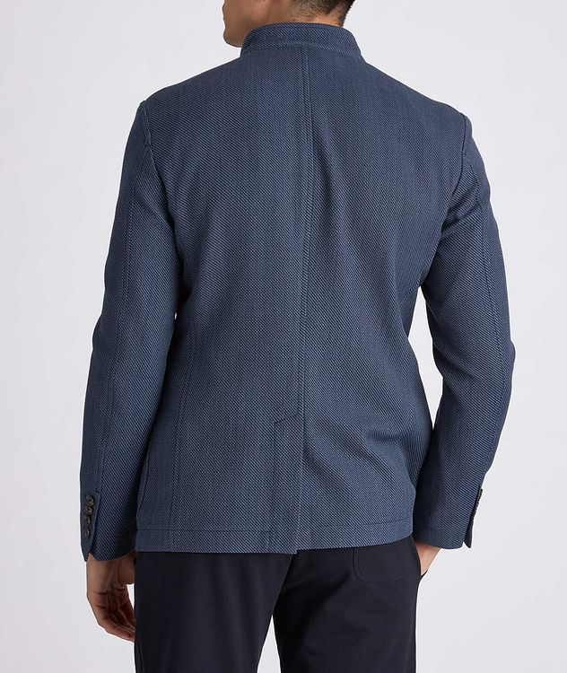 Hankook Slim-Fit Cotton-Wool Sports Jacket picture 3
